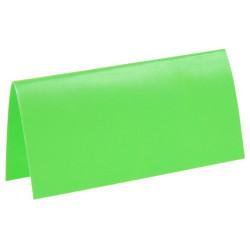 Placeringskort Neon Grön
