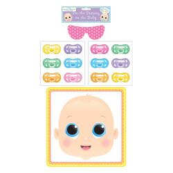 Babyshower Spel, Ge babyn nappen