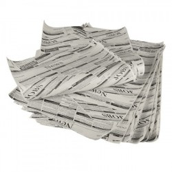 "Smörpapper ""Newsprint"" 25-pack"