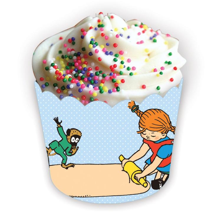 Pippi Långstrump Muffinsformar