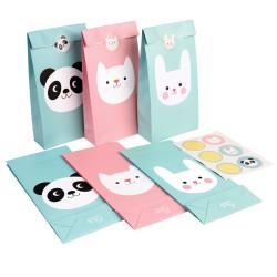 Godispåsar Panda, Kanin & Katt
