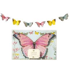 Elegant Fjärilsgirlang