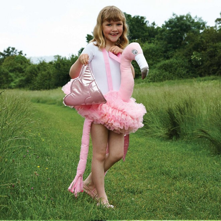 Maskeradkostym Flamingo