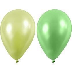 Ballonger Grön Mix