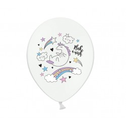 Ballonger Unicorn Pastell