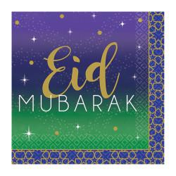Kaffeservetter Eid Mubarak