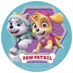 Tårtbild Paw Patrol Girls