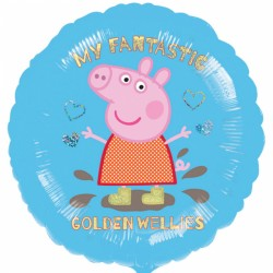Folieballong Peppa Pig, Gyllene Stövlar