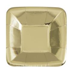 Uppläggningsfat Mini Guld