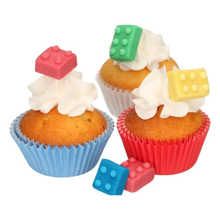 Tårtdekoration Legobitar