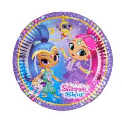 Shimmer & Shine Assietter