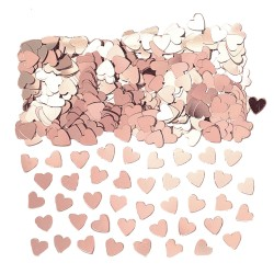 Konfetti Hjärta Rosé