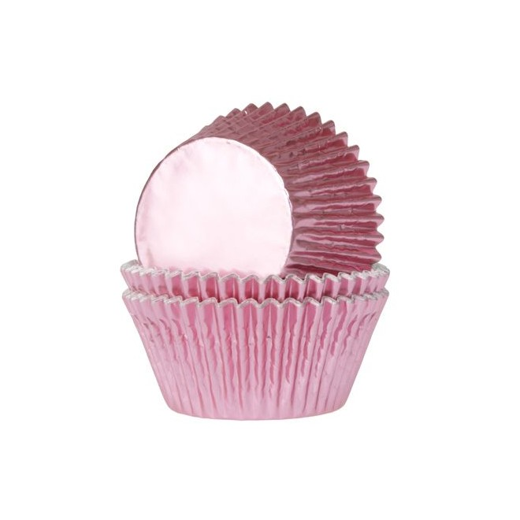 Muffinsformar Folie Rosa