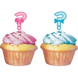 Boy or Girl Cupcakepicks