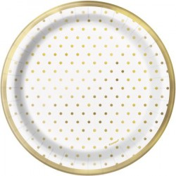 Assietter Gold Dots