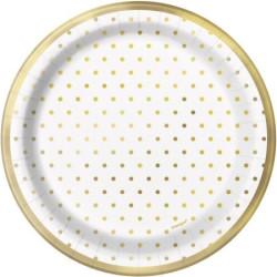 Assietter Gold Dots