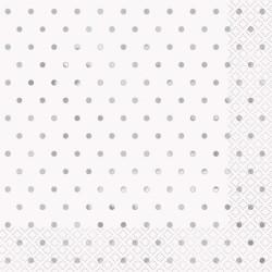 Servetter Silver Dots