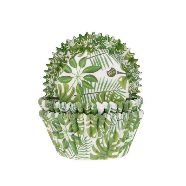 Muffinsformar Gröna Blad