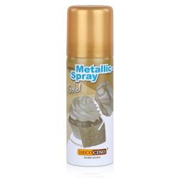 Ätbart Metallicspray Guld