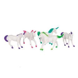 Plastdjur Enhörning 8-pack