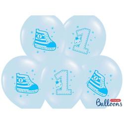 Barnballonger Ljusblå Sneakers