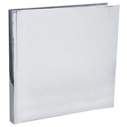 Gästbok Silver Metallic