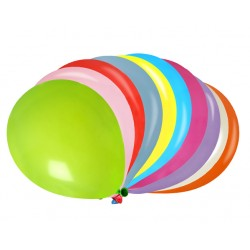 Ballonger Multifärger 50 pack
