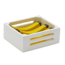 Fruktlåda Bananer Trä