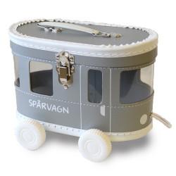 Väska Spårvagn Grå/Silver