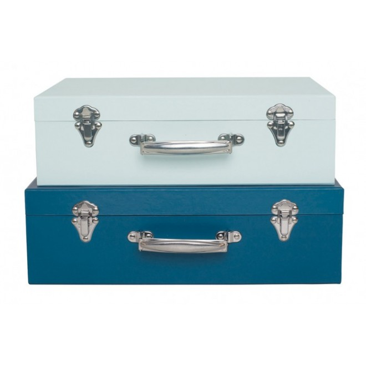 Koffert Blå 2-pack