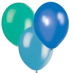 Ballonger Blå, Turkos, Ljusturkos