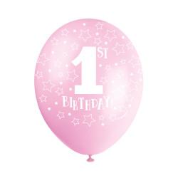 Rosa Ballonger 1st Birthday