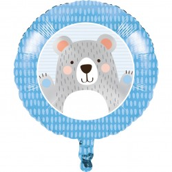 Folieballong Nalle