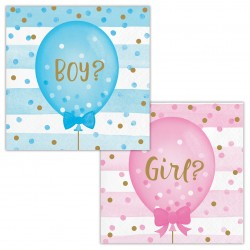 Kaffeservetter Gender Reveal