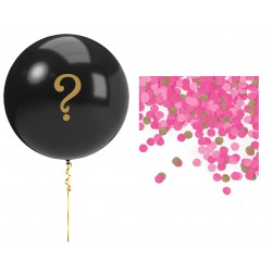 Gender Reveal Ballong Flicka