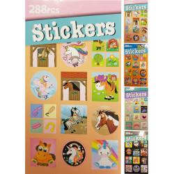 Stickerbook, Klistermärke Bok