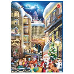 Chokladkalender Vinterstad