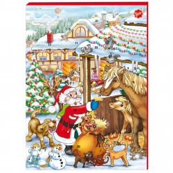 Chokladkalender Tomtens Djurvänner