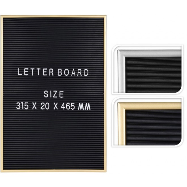 Letter Board Tavla