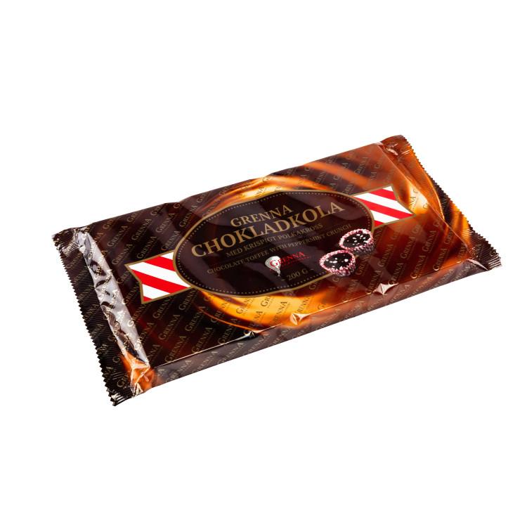 Chokladkola med Polkakross