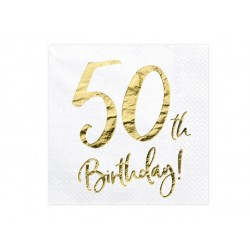 Servetter Vita 50 år