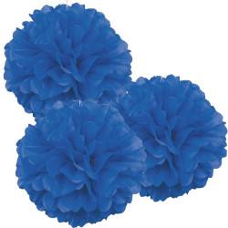 Pom Pom Blå 3-pack