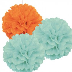 Pom Pom Mint-Mix 3-pack