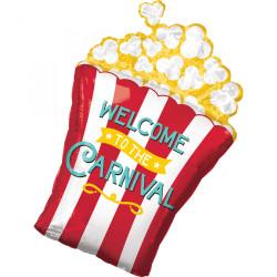 Folieballong Popcornbox