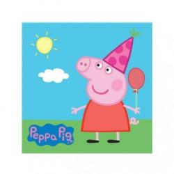 Servetter Peppa Pig