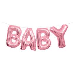 Ballonggirlang Baby Rosa