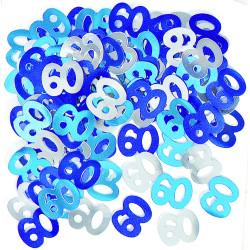Konfetti 60 blå