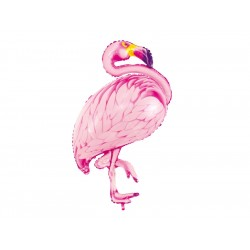 Folieballong Flamingo