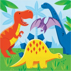 Lunchservetter Dinosaurie Vänner