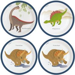 Papperstallrikar Dinosaurier